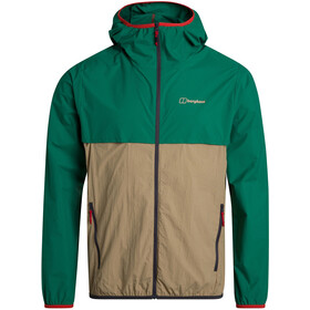 Berghaus Corbeck Wind Jacket Men, lush meadow/cornstalk